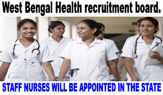 7615 STAFF NURSES WILL BE APPOINTED IN THE STATE