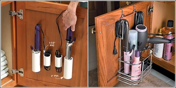 Fourteen Clever Life Hacks For Bathroom Storage And