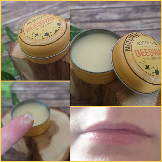 [Beauty] Absolute New York Natural Lip Balm Beeswax Ultra Conditioning