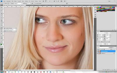 Nachbelichter-Werkzeug - Photoshop - Schritt 1