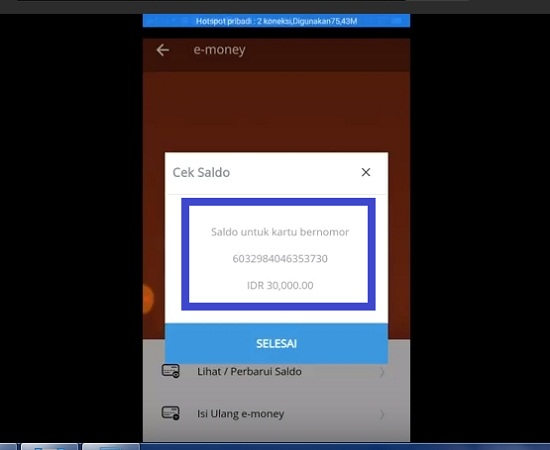 Cara Top Up Kartu E-Toll Mandiri Via Mobil Banking Mandiri Di Hp 3