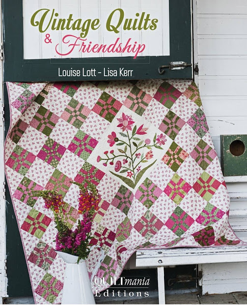 Vintage Quilts & Friendship For Quiltmania Publications.