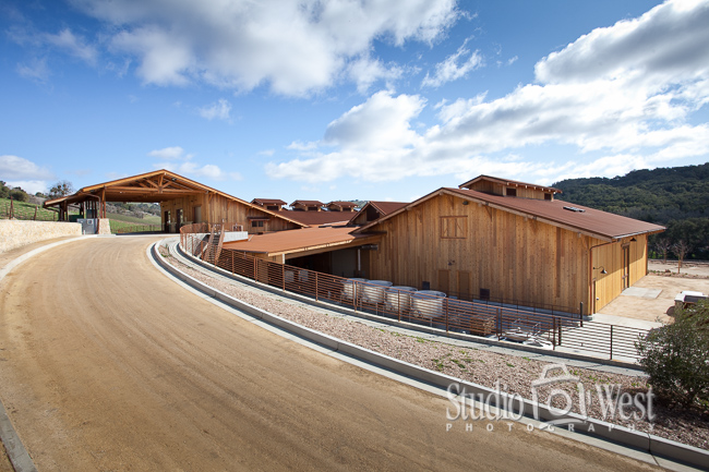Winery Architecture Photography - Paso Robles Winery Photography - Studio 101 West Photography