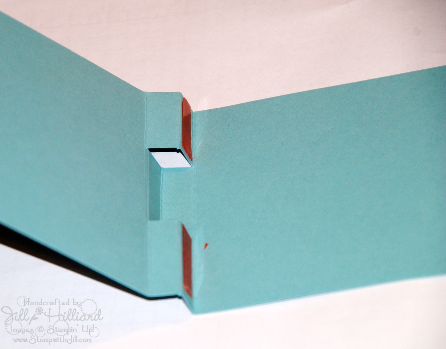 Jill's Card Creations: Post it note Holder