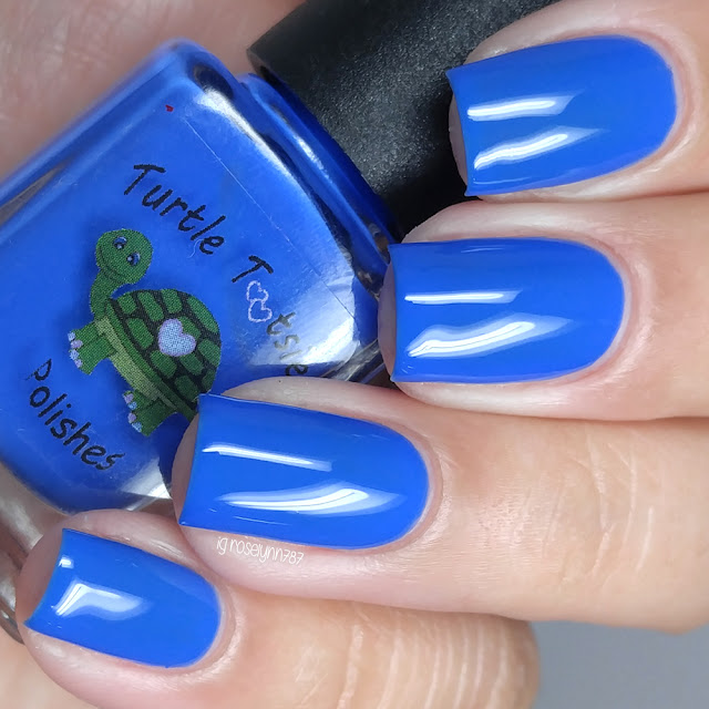 Turtle Tootsie Polishes - Blue Ranger