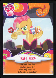 My Little Pony Babs Seed Series 3 Trading Card