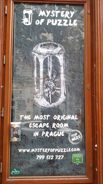 Tajemství hlavolamu - úniková hra Praha - Cashback World - výloha
