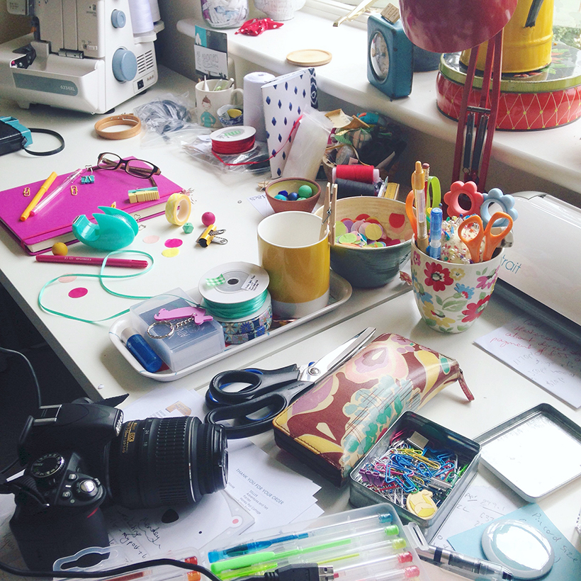 Behind the scenes at Adventures & Tea Parties, creative lifestyle blog and accessory brand.