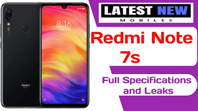 Redmi note 7s full specifications