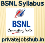BSNL Syllabus