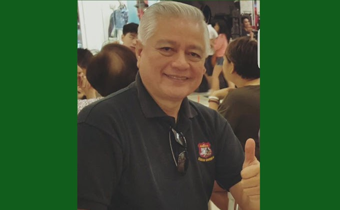Senatorial Candidate Raffy Alunan (#3) : We cannot quit. We all have got to work for the future of succeeding generations.