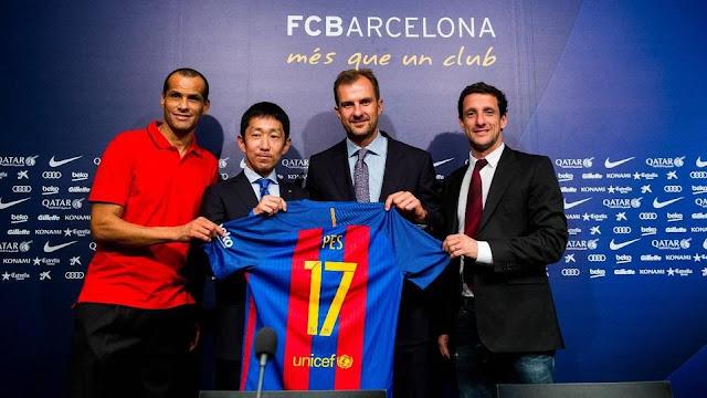 Konami nuevo patrocinador global del FC Barcelona