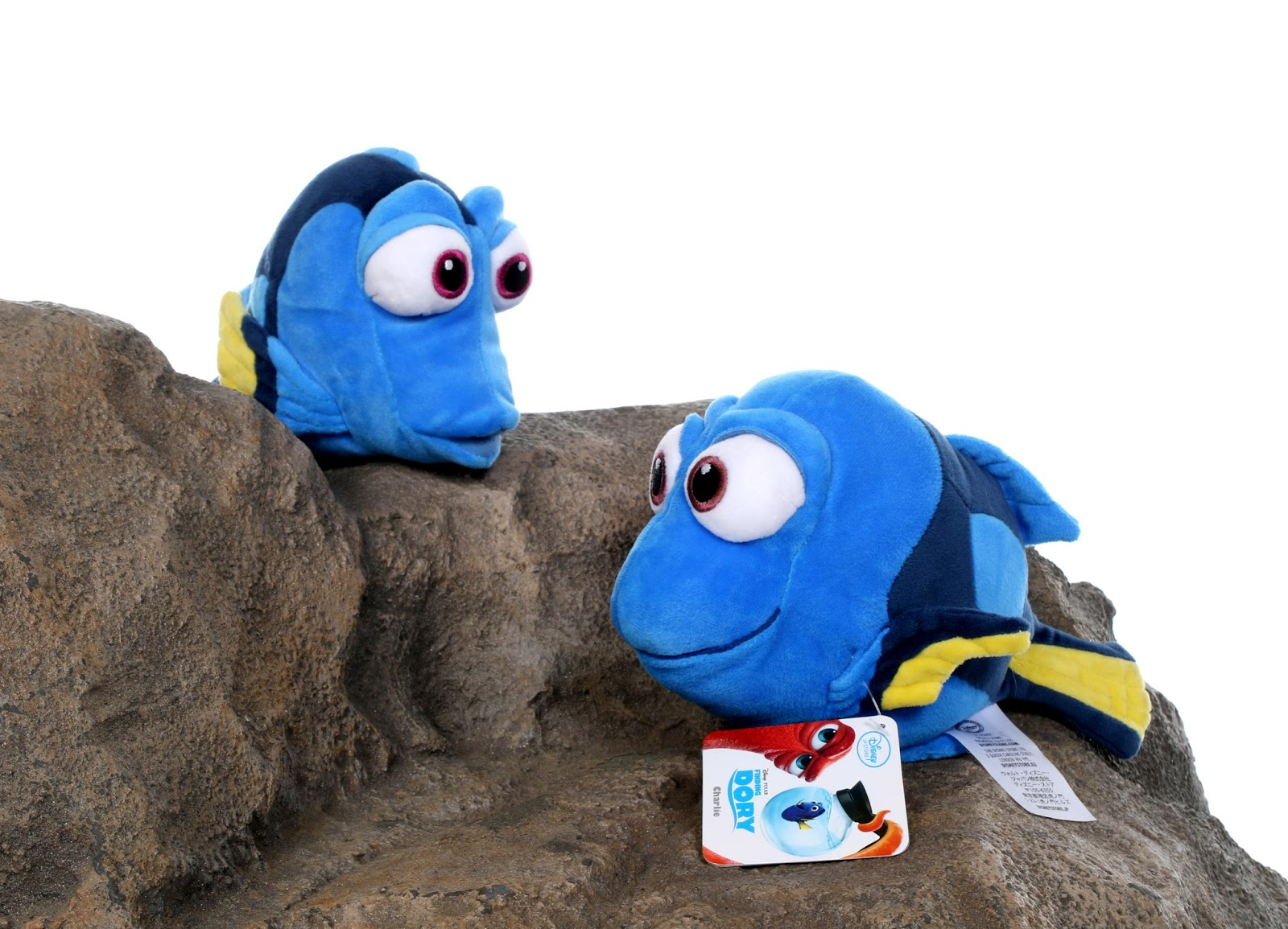 dan the pixar fan finding dory jenny charlie disney store plush