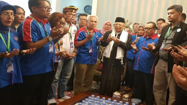 Ma'ruf Amin Sepakat Tak Pakai Istilah Kafir untuk Non Muslim di Indonesia