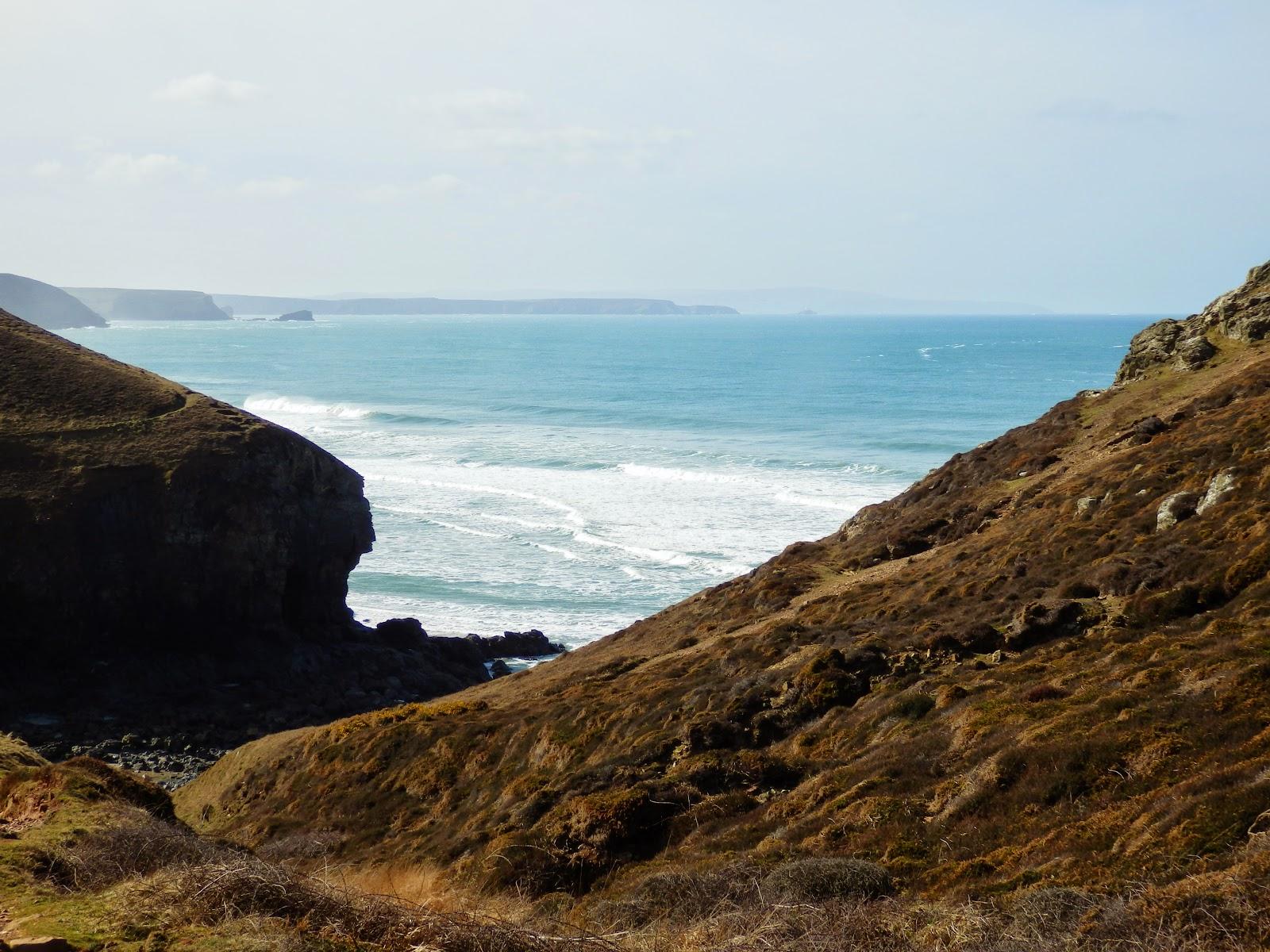 Cornwall's coastal path from Chapel Porth
