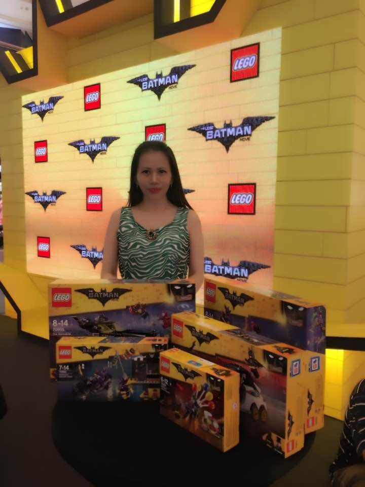EVERGREEN LOVE: LEGO BATMAN Movie Event At MidValley Megamall