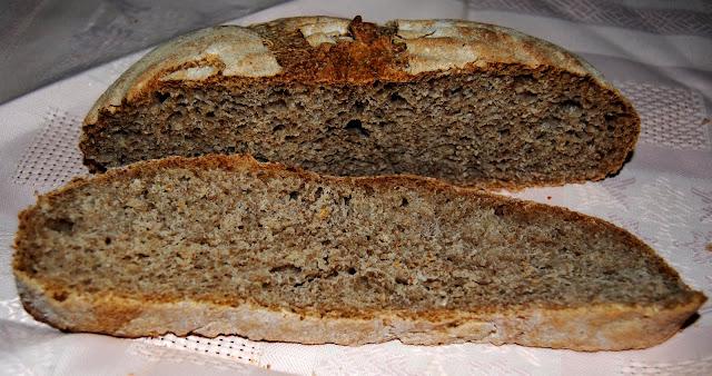Pan de Centeno y Comino. Receta
