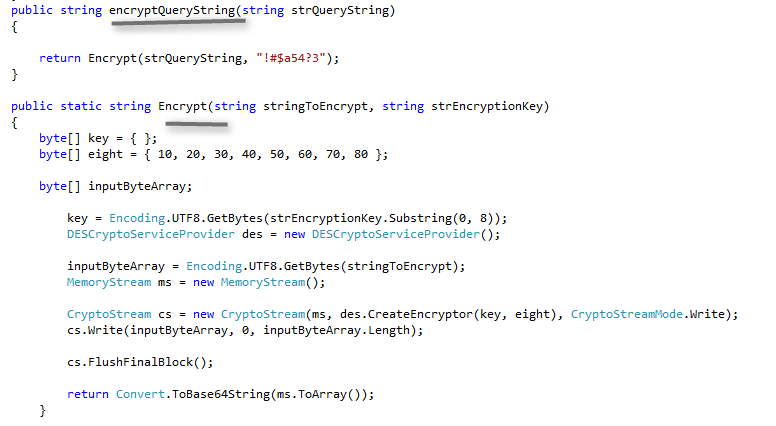 Encrypting and Decrypting files using DES