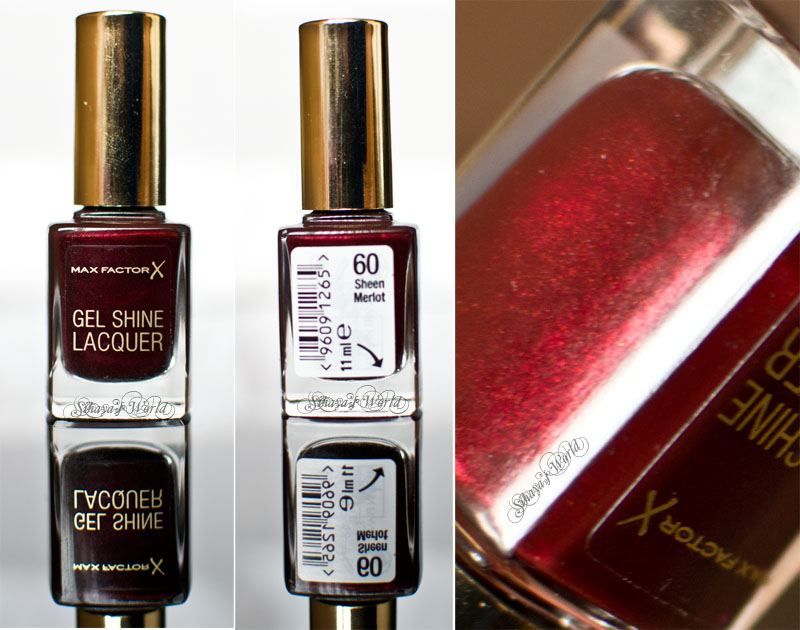 max factor gel shine lacquer 60 sheen merlot