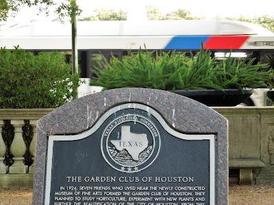 GARDEN CLUB OF HOUSTON - HISTORICAL MARKER