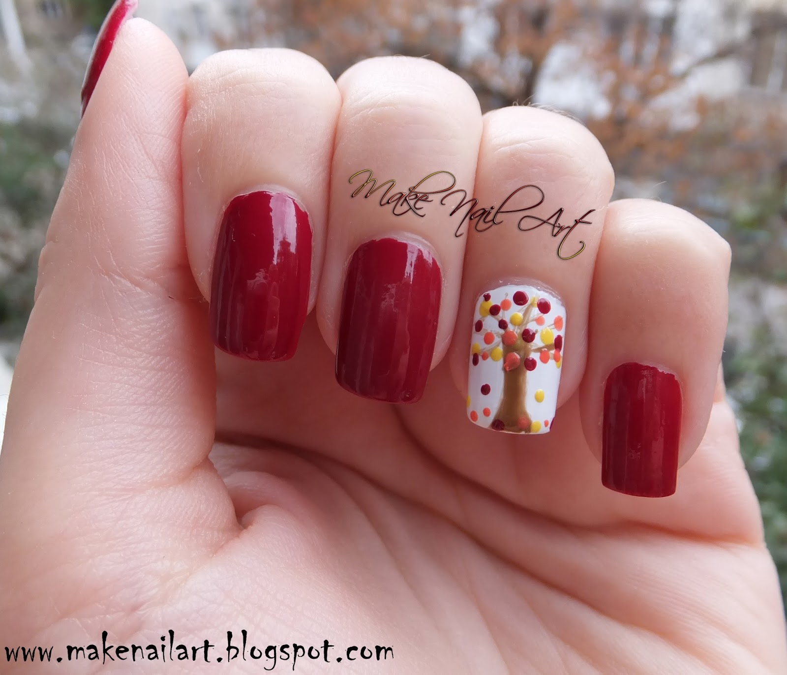 Make Nail Art: October 2015