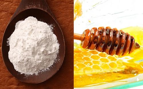 Cách tẩy tế bào chết da mặt từ mật ong và bột banking soda