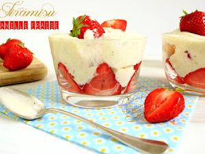 Tiramisu vanille fraise rapide