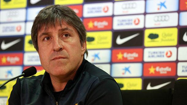 Jordi Roura asegura que la sanción de la FIFA ha hecho al Barça más fuerte
