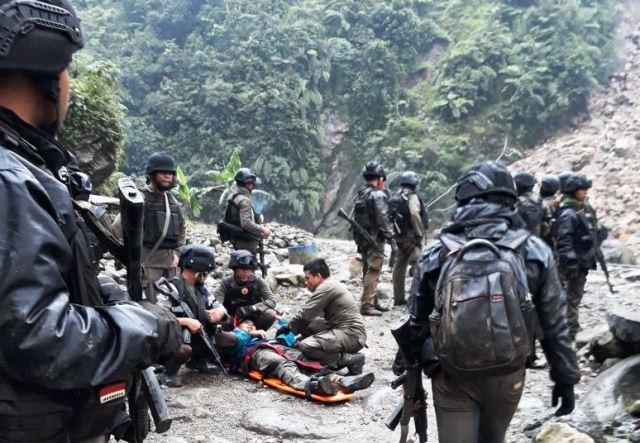 Truk Angkut Anggota Brimob Terbalik di Papua: 1 Tewas dan 12 Luka