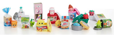 Shopkins Small Mart miniature supermarket versions
