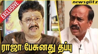 S. Ve. Shekher takes on H Raja for Periyar Issue | Interview