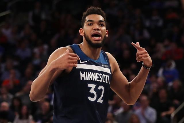 Horford y Towns entre los mejores 20 de la NBA