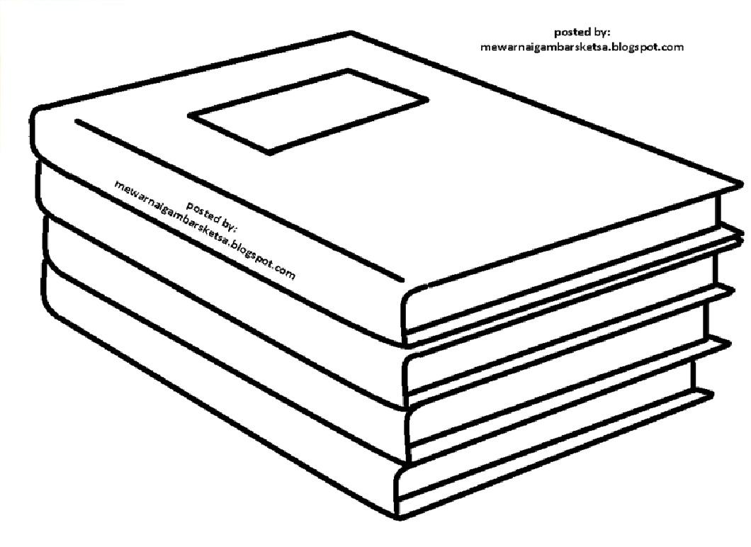 Mewarnai Gambar Mewarnai Gambar Sketsa Buku 7