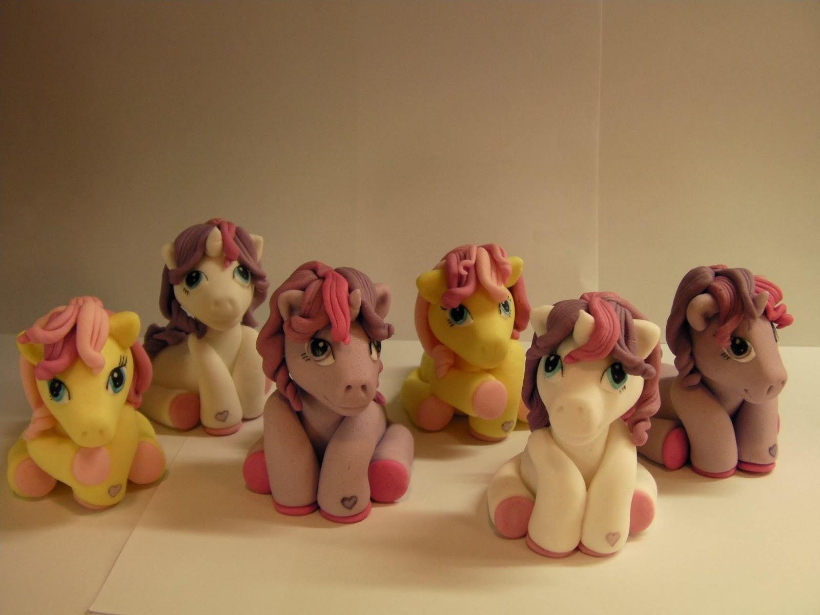 my little pony moj mali poni fondant figures princess celestia luna little pony. Black Bedroom Furniture Sets. Home Design Ideas