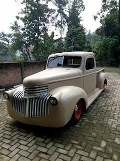 KOLEKSI TRUK ANTIK : Chevrolet AK Master alias Chevy Mbah Jambrong 1944 Kondisi Siyap Pakai