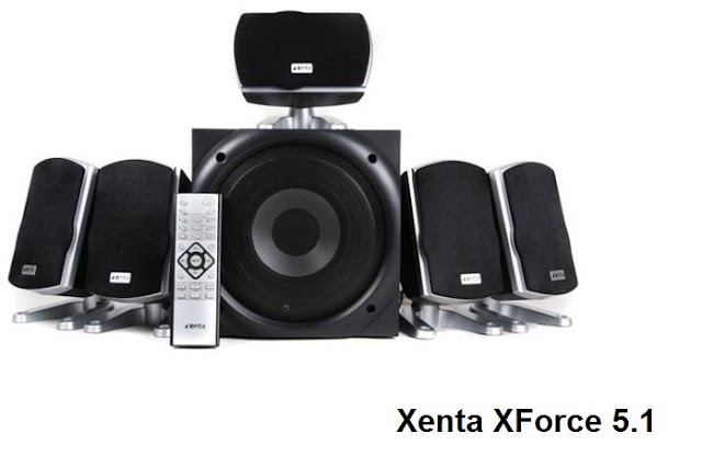 Xenta XForce 5.1 Surround Sound speakers