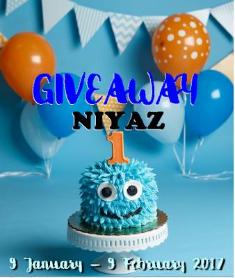 TAMAT - GIVEAWAY NIYAZ 1ST YEAR BIRTHDAY BY DEARIESCOUPLE