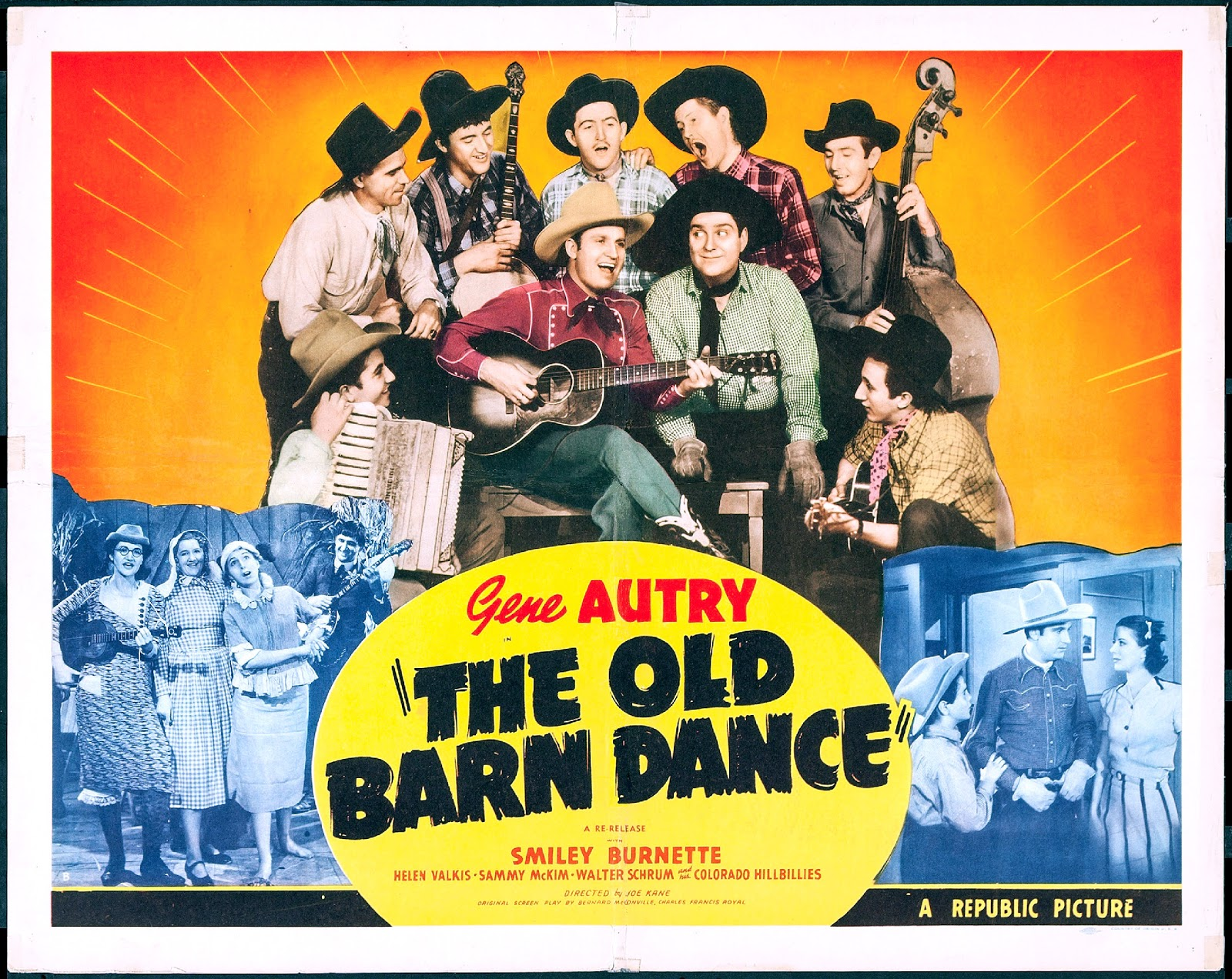 Friday's Old Fashioned: The Old Barn Dance (1938)