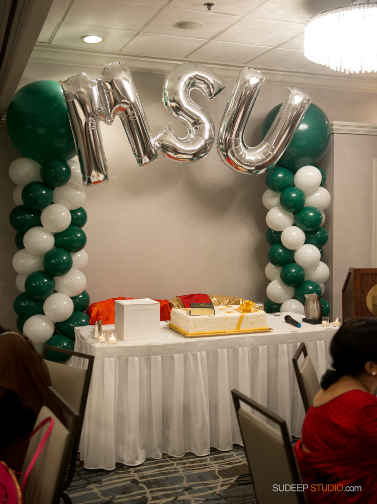 MSU Birthday Party Decoration - SudeepStudio.com Ann Arbor Photographer