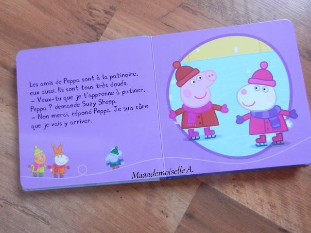 || Peppa fait du patin à glace (Présentation & Avis)(Chut, les enfants lisent # 46)