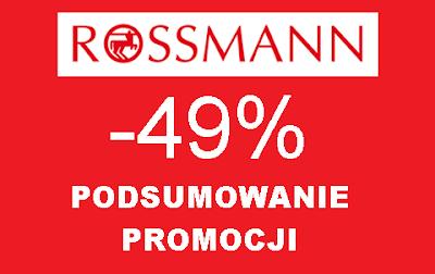 Podsumowanie promocji -49% w Rossmannie