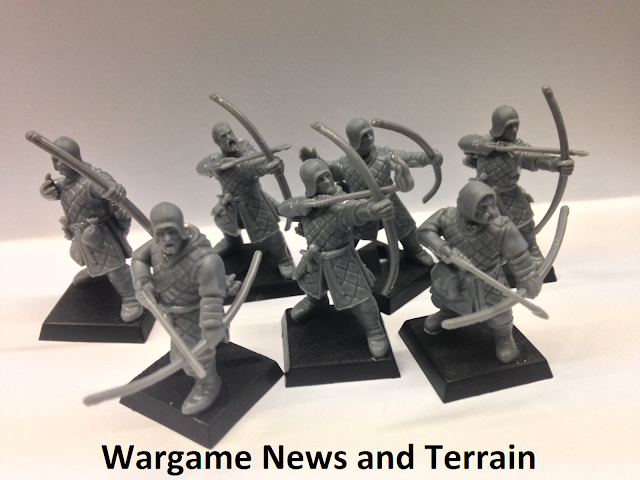 Fireforge Games Forgotten World Plastic Northern Bowmen Soldiers