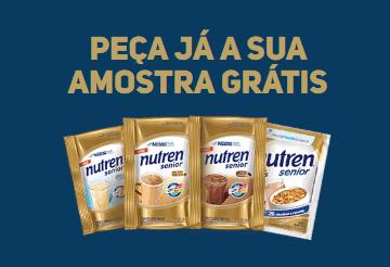 Nutren Senior Nestlé - Amostra Grátis   Blog Top da Promoção www.topdapromocao.com.br @topdapromocao #topdapromocao