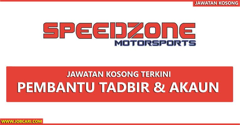 Jawatan Kosong di Speedzone Motorsport Gallery Sdn Bhd