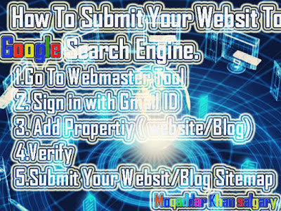Submit Blog To Google Search Engine