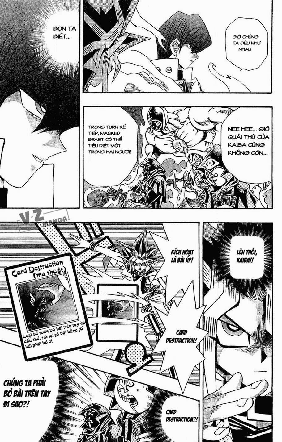 YUGI-OH! chap 186: quái thú kết hợp! trang 17