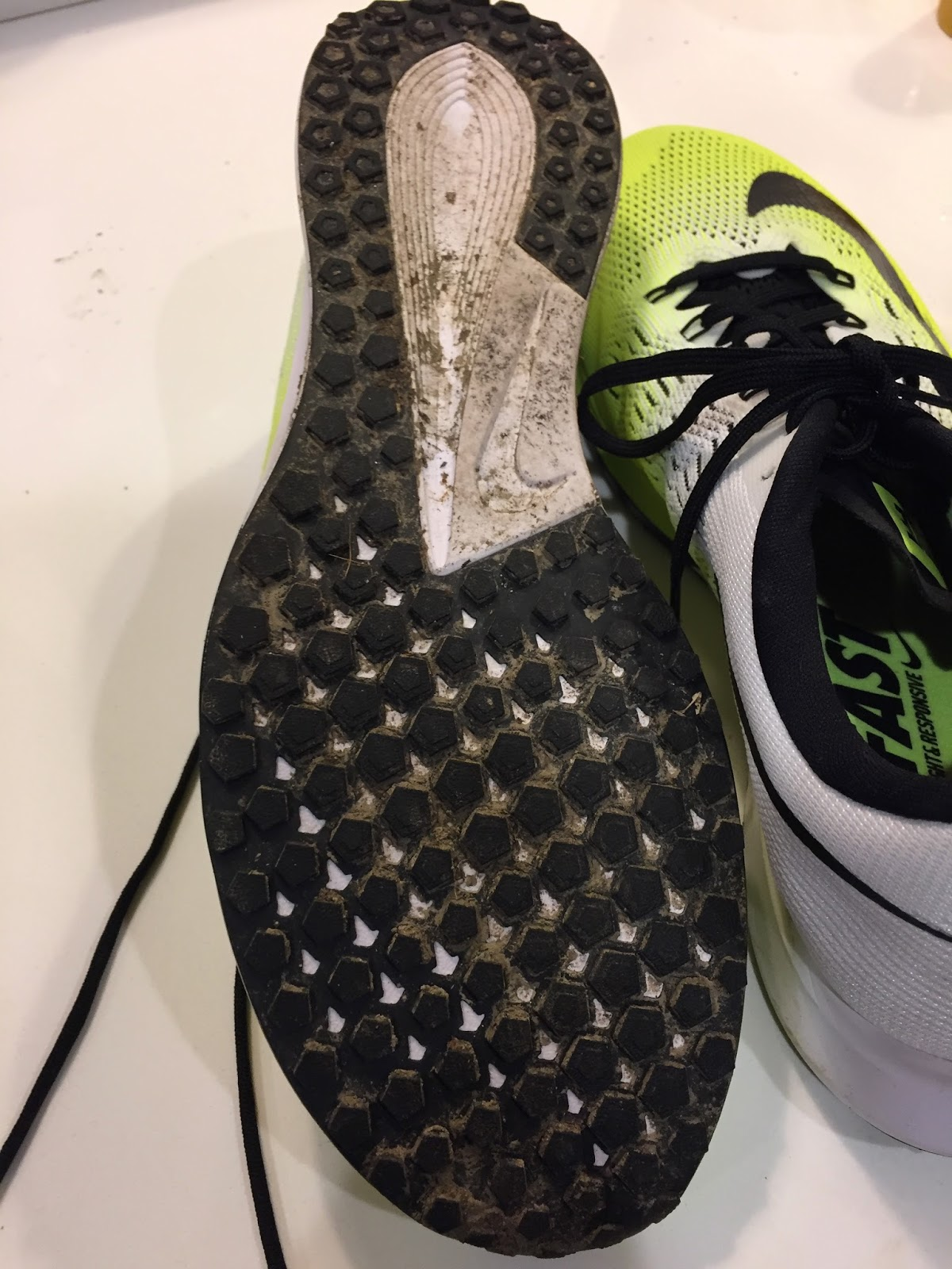 709f5e114bc The outsole is made of a thin layer of Duralon (blown rubber) which runs  the whole length of the shoe. There s a cutout in the middle of the heel  and the ...