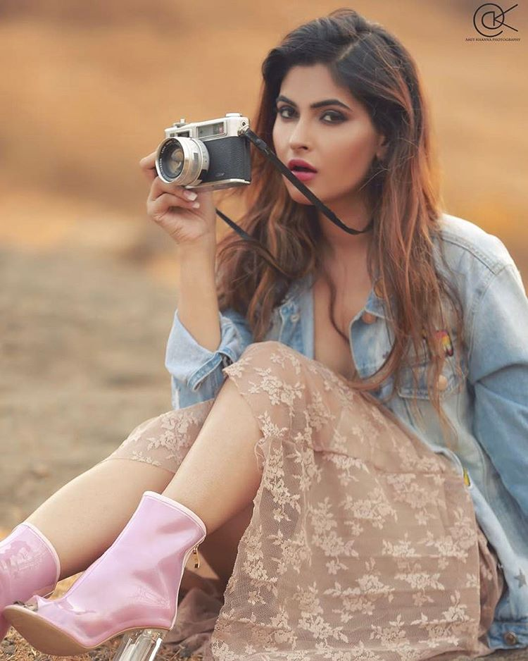 Model Karishma Sharma Spicy Bikini Photos