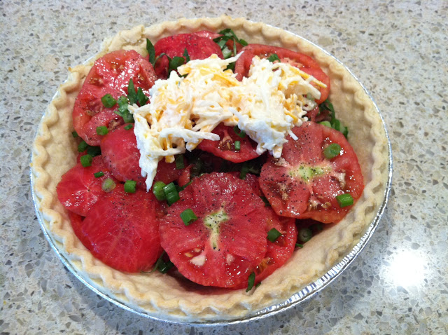 Tomato Pie | The Lowcountry Lady