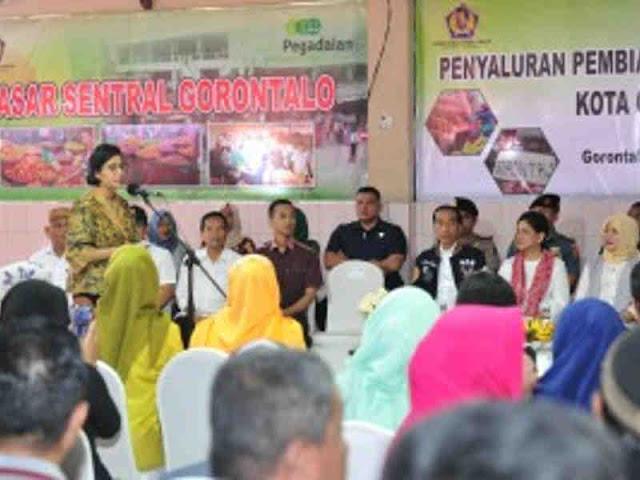 Sri Mulyani Indrawati Nilai Program Pembiayaan UMi Jadi Pelengkap KUR